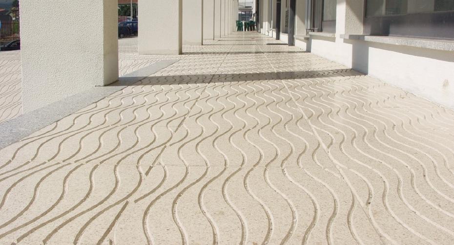 Amop pavings pavimentos de exteriores mosaicos for Mosaico ceramico exterior